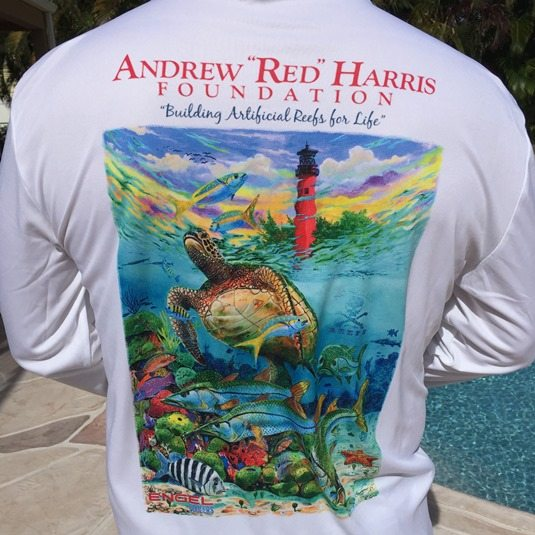 "Andrew ""Red"" Harris Foundation custom shirts available for sale"