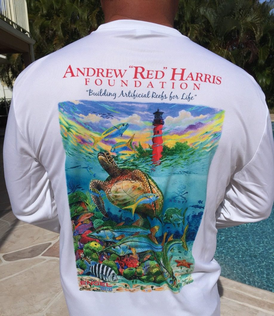 """Andrew """"Red"""" Harris Foundation custom shirts available for sale"""