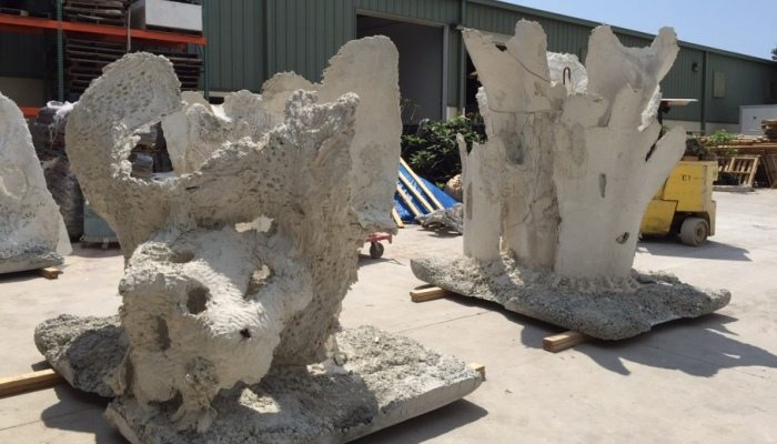 "Coral Reef Replica Modules - The Andrew ""Red"" Harris Foundation will work to enhance the marine environment by building artificial reef structures off the shores of South FL"