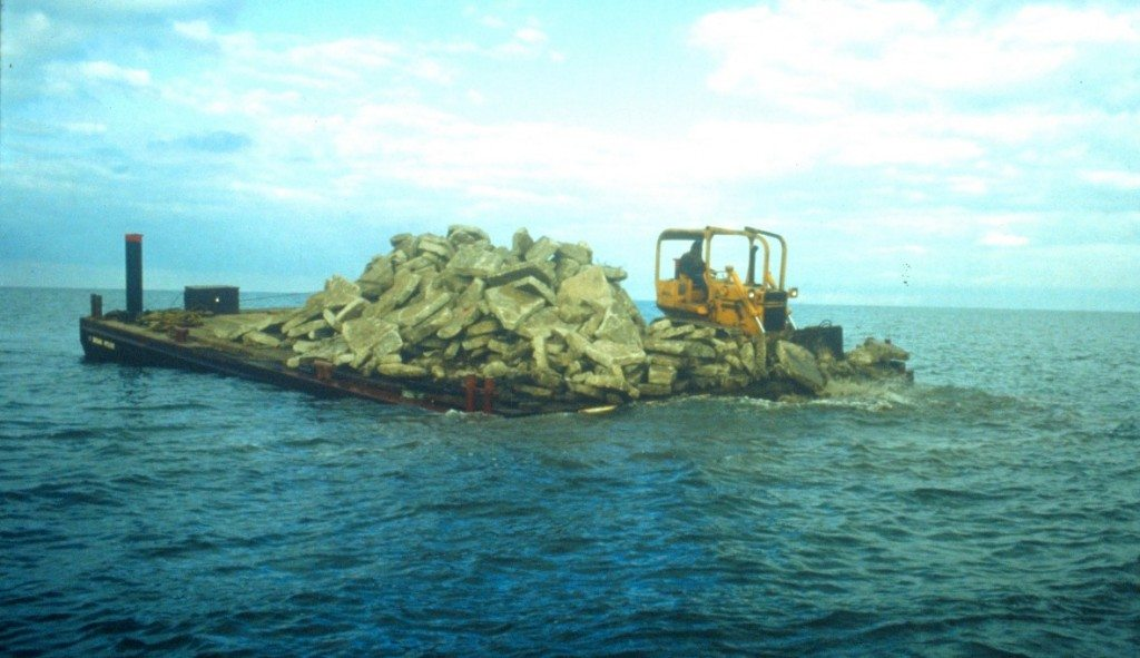 Creating Reefs Using Construction Debris