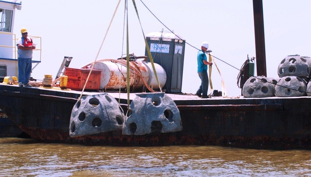 Reef Balls as artificial reefs