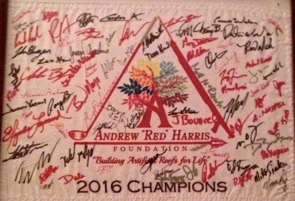 "2016 Andrew ""Red"" Harris Foundation's 3rd annual Golf Tournament"