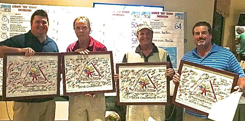 "2016 Andrew ""Red"" Harris Foundation's 3rd annual Golf Tournament winners"