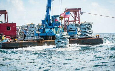 Article:  Coastal Angler & The Angler Magazine:  Largest Ever Private Reef Launch